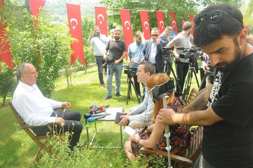 Muharrem İnce'den çarpıcı Erdoğan açıklaması