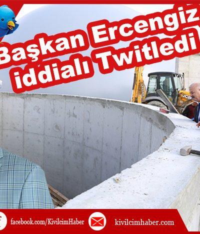 Başkan Ercengiz iddialı konuştu