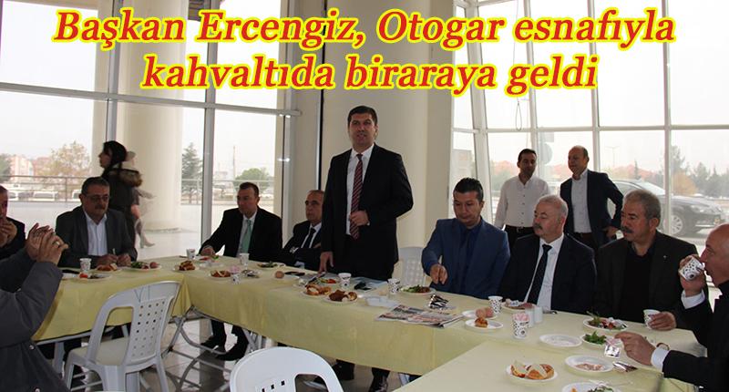 Başkan Ercengiz, 5'nci ayında tavanı çöken Otogar esnafını dinledi