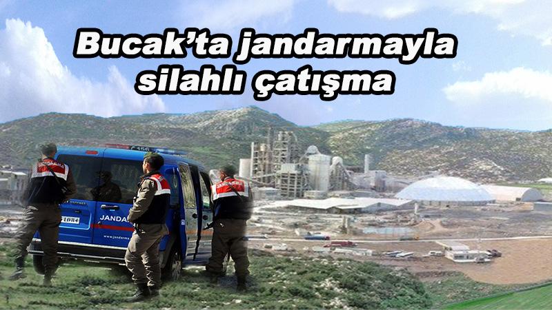 Bucak'ta jandarmayla silahlı çatışma