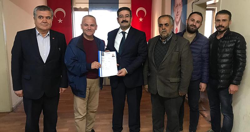 Nanecioğlu Belediye Başkanlığına aday adayı oldu