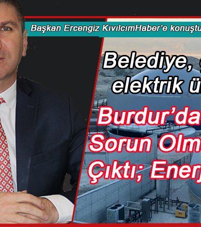 Belediye, çöpten elektrik üretiyor