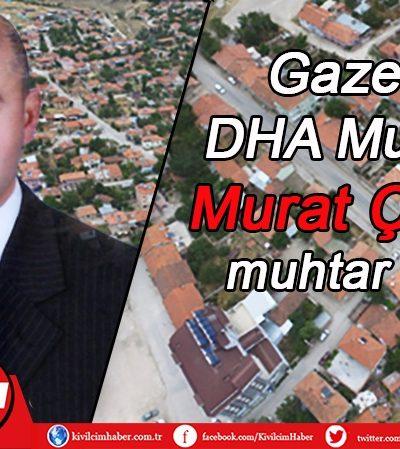 Gazeteci Murat Çoban muhtar adayı oldu
