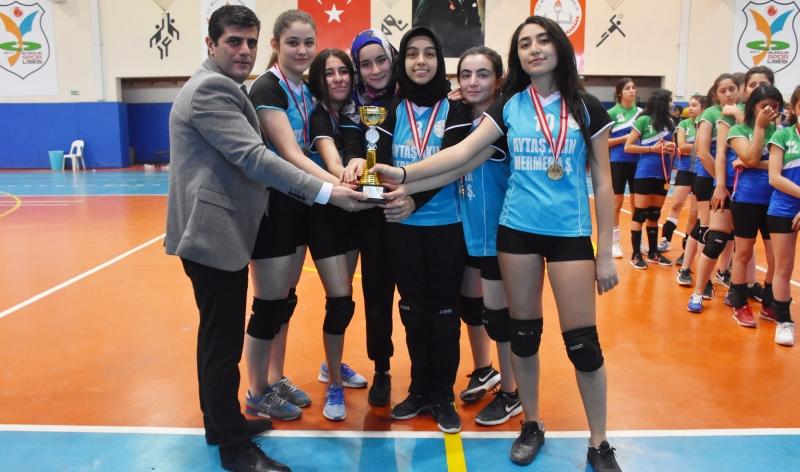 Okul Sporları Genç (A) Kızlar Voleybol İl Birinciliği Yarışması sona erdi