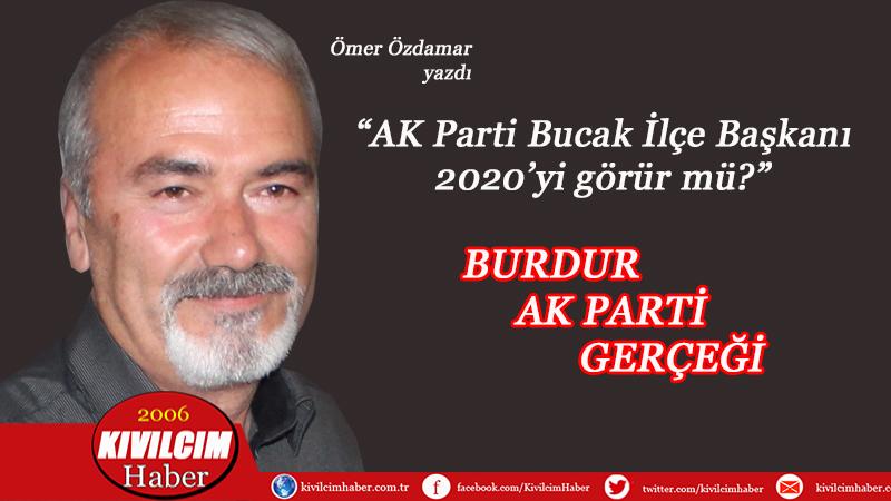"""""""Burdur AKP gerçeği""""ni Özdamar yazdı"""