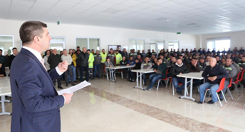 Başkan Ercengiz, ücret artışı konusundaki söylentilere açıklık getirdi