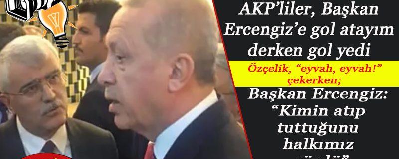 Cumhurbaşkanı'na taa Kaz Dağları'ndan Burdur'a içme suyu getirme sözü verdirtten AKP'liler