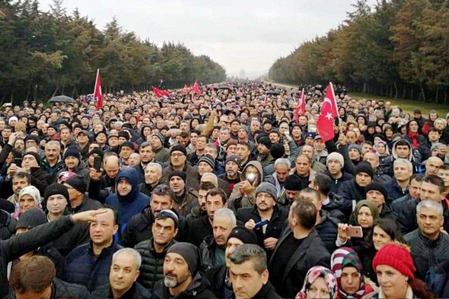 On binlerce EYT'li Ankara'dan sesleniyor: Sandıkta hesap soracağız