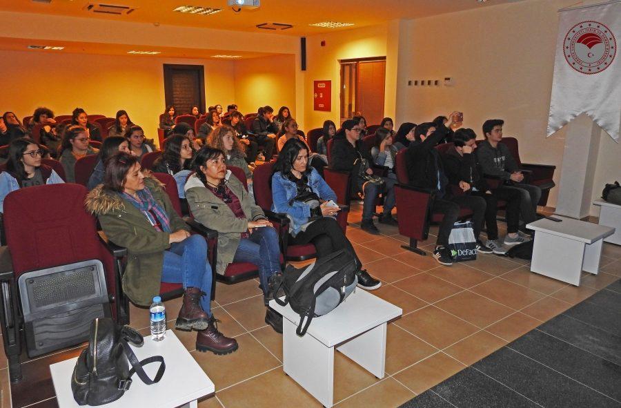 Anadolu Lisesi öğrencileri, tarih ve doğanın içiçe olduğu Termessos'u incelemelerde bulundu