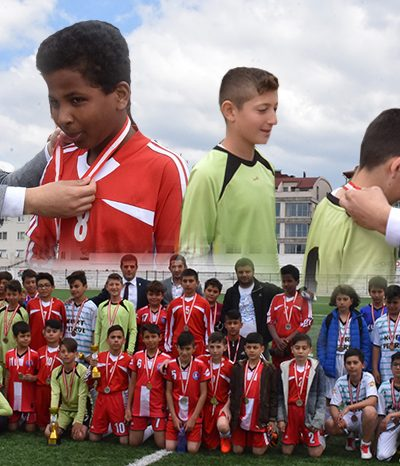 Futbol yarışması bitti