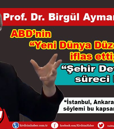 Prof. Dr. Birgül Ayman Güler'den önemli açıklamalar