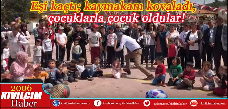 Bucak'ta Çocuk şenliği