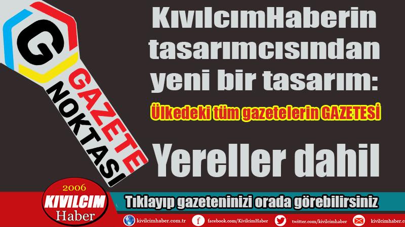 Türkiye'deki tüm gazetelerin GAZETESİ: Gazete Noktası
