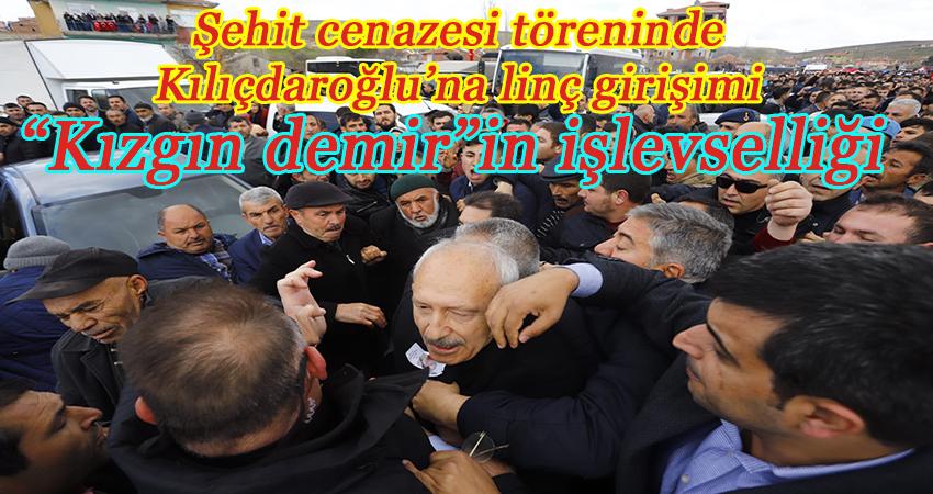 CHP Genel Başkanı Kemal Kılıçdaroğlu'na linç girişimi