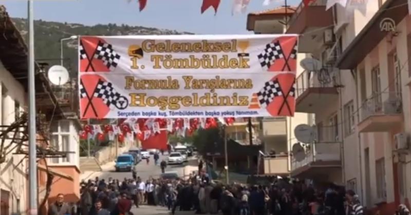 Bucak'ta geleneksel Tömbüldek Formula Yarışması yapıldı