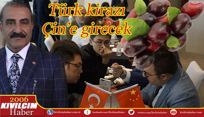 Türk kirazı Çin pazarından vazgeçmiyor