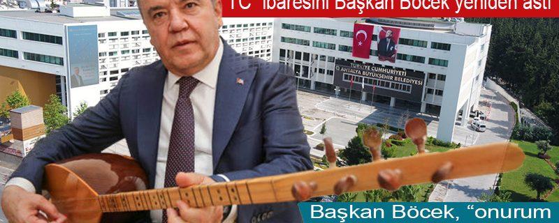 İnen Türkiye Cumhuriyeti tabelaları birer birer yerine takılıyor