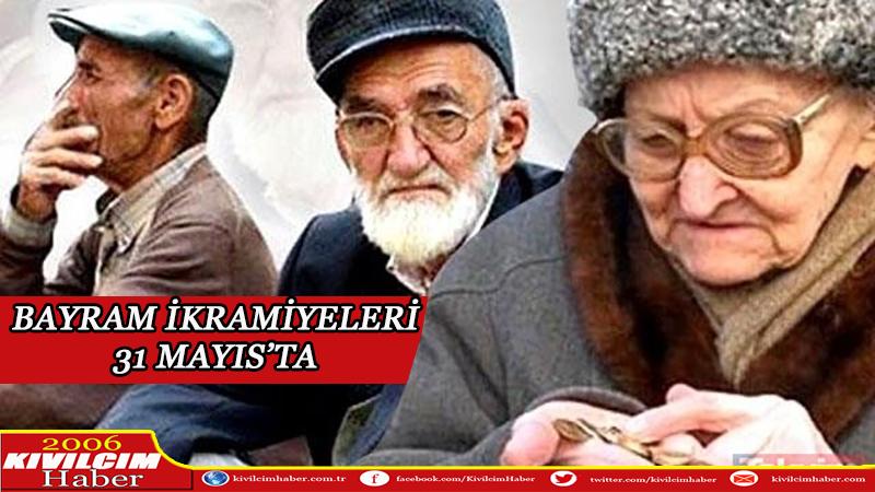 Emeklilere bayram ikramiyesi 31 Mayıs'ta ödenecek