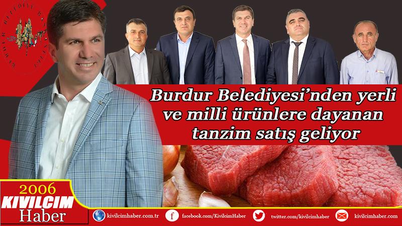 Burdur Belediyesi ucuz et satacak