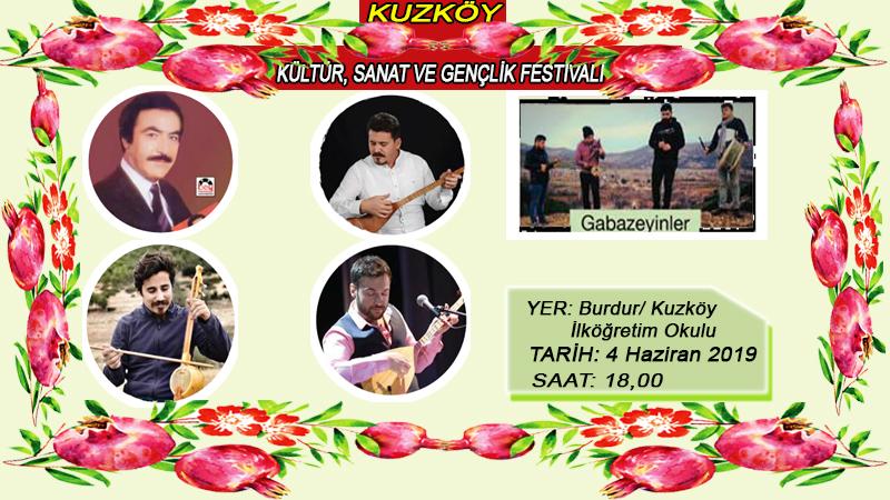 Kuzköy Kültür, Sanat ve Gençlik Festivali Bayramın ilk günü