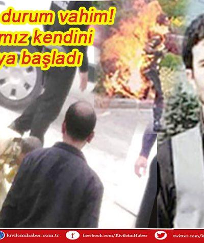 Türkiye'de durum vahim: İşsiz vatandaş belediye önünde kendini yaktı