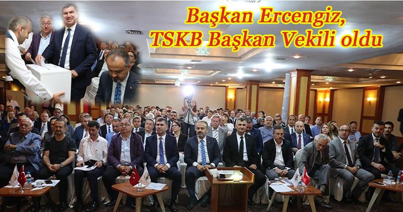 Burdur Belediye Başkanı Ercengiz, TSKB Başkan Vekili seçildi
