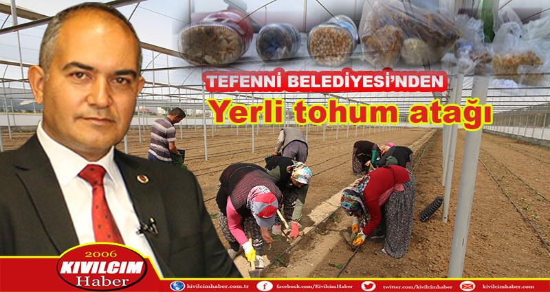 Tefenni belediyesi yerli tohum üretmeye başladı