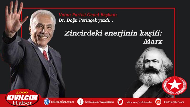 Zincirdeki enerjinin kâşifi: Marx