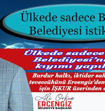 Ülkede sadece Burdur Belediyesi istikrarlı