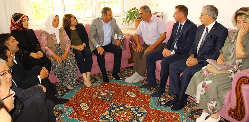 15 Temmuz etkinlikleri kapsamında Güvenli Köyü'nde şehit ailesi ziyareti