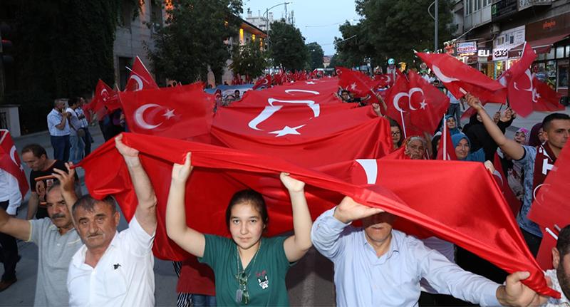 Demokrasi ve Milli Birlik Günü kutlamalarının muhteşem finali