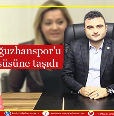 İYİ Parti, Oğuzhanspor'u Meclis kürsüsüne taşıdı