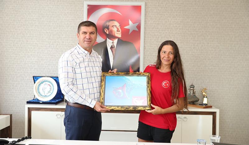 Can, Başkan Ercengiz'i ziyaret etti