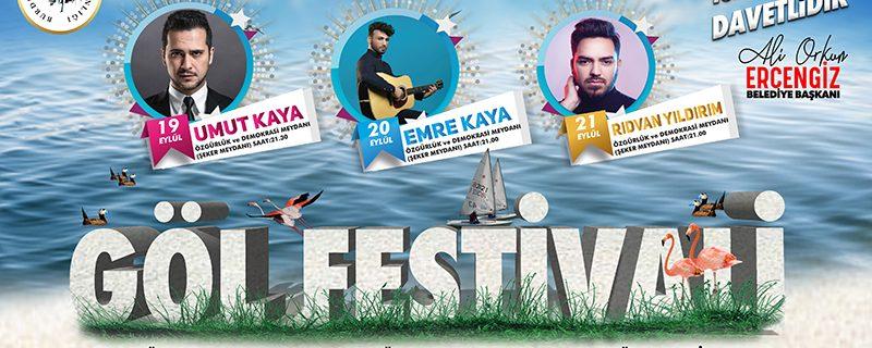 Burdur Gölü Festivali başlıyor