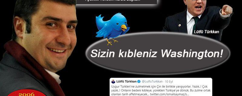 Aydınlık'tan İyi Partili Türkkan'a sert yanıt: Sizin kıbleniz Washington!