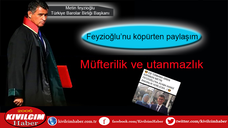 Metin Feyzioğlu'nu köpürten paylaşım