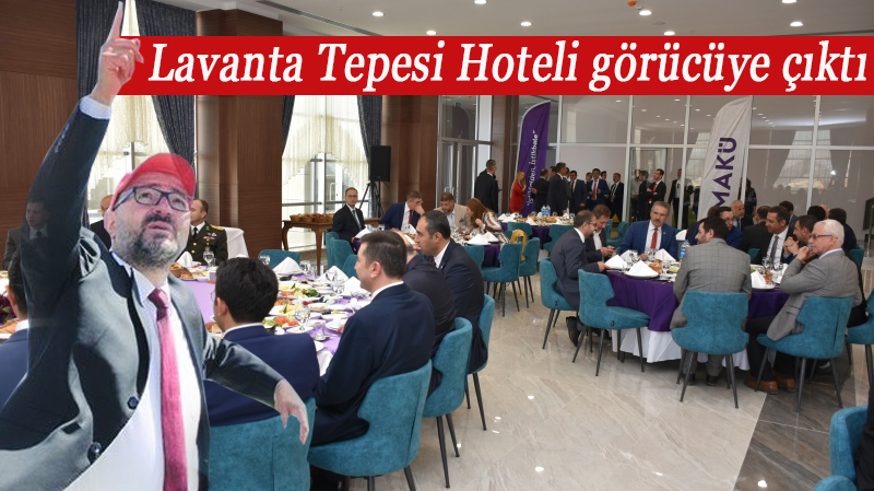 Lavanta Tepesi Hoteli kapılarını ilk kez Burdur protokolüne açtı