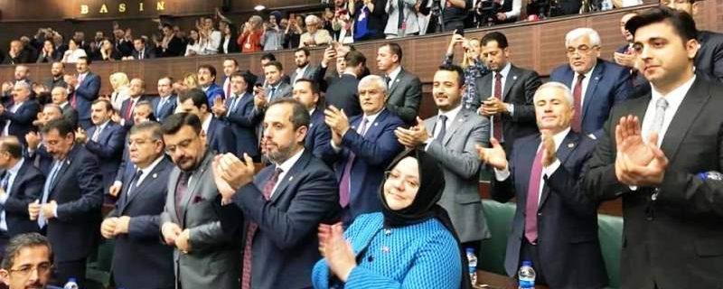 Burdur AK Parti, partisinin Grup Toplantısına katıldı
