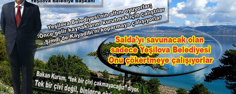 Yeşilova Belediyesi'ni çökertme projesi: Yasaya aykırı Kayadibi referandumu