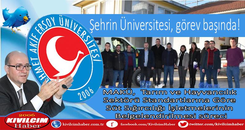 Şehrin Üniversitesi, görev başında!