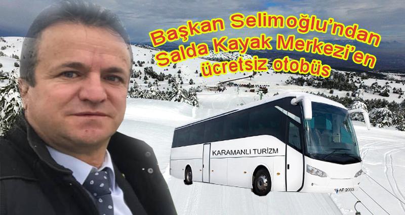 Başkan Selimoğlu'ndan Salda Kayak Turizmine katkı