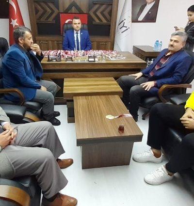 Türkiye Tekvando Şampiyonu'ndan İYİ Parti'ye ziyaret