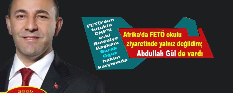 FETÖ'den tutuklanan CHP'li Burak Oğuz hâkim karşısında