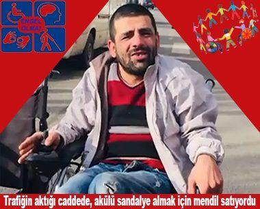 Engelli vatandaşı duygulandıran sürpriz