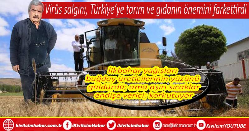 Kovid19 salgını, Türkiye'ye tarım ve gıdanın önemini farkettirdi