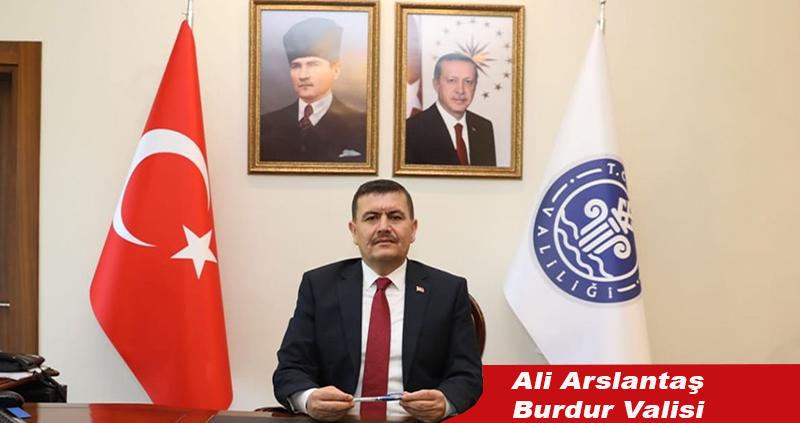 Vali Arslantaş'ın 29 Ekim mesajı