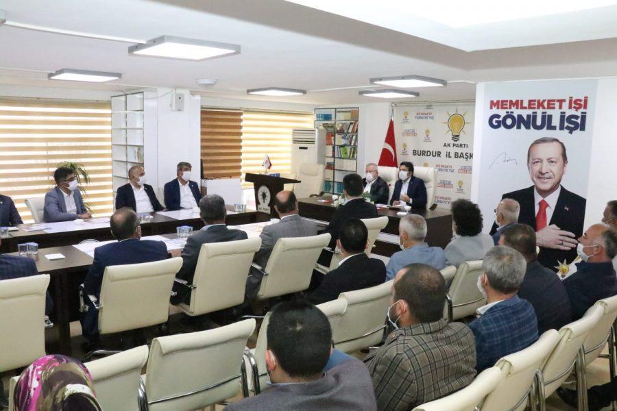 AK Parti'ye Burdur MHP'den Ziyaret