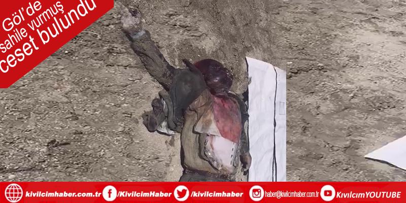 Burdur Gölü'nde ceset sahile vurdu