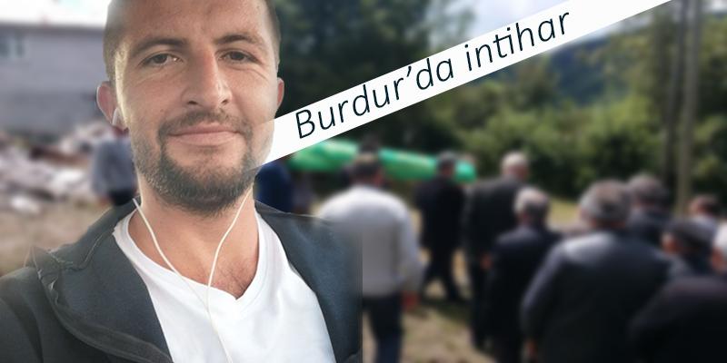 Burdur'da intihar
