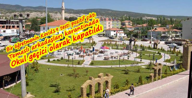Burdur'da bir öğretmenin testi pozitif çıktı; arkadaşları karantinada, okul kapatıldı